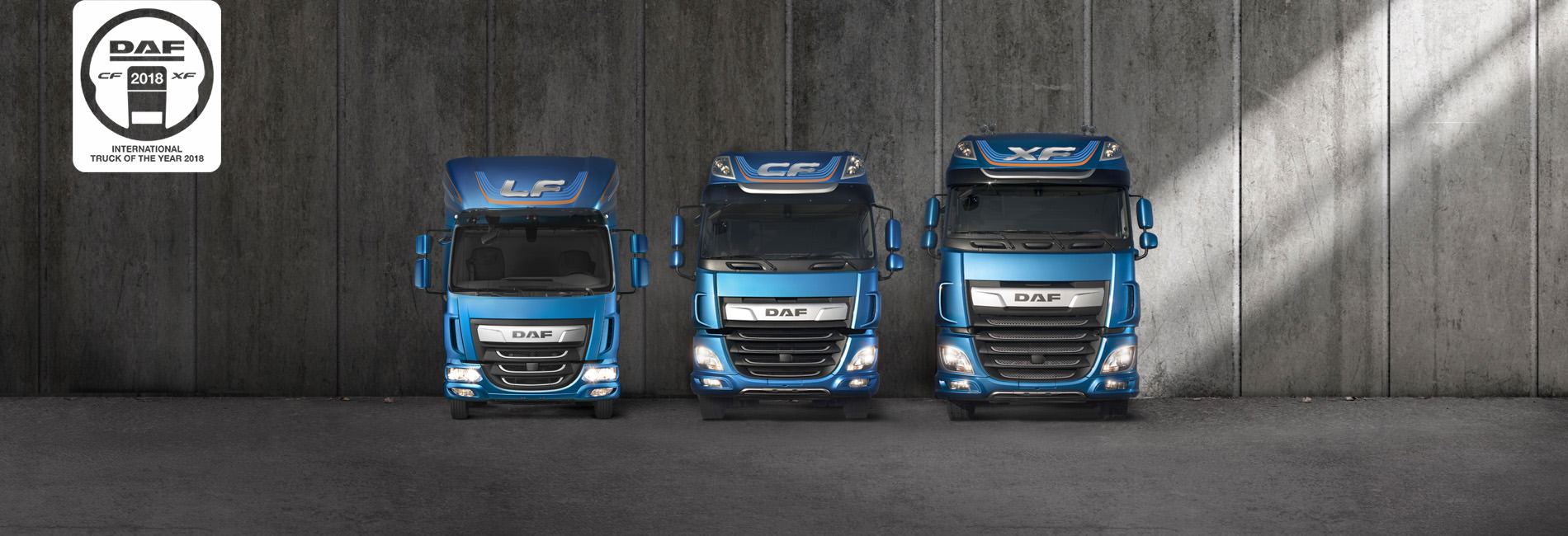 DAF - The New CF and XF